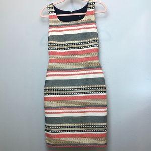 The Limited | Tweed Stripe Sheath Dress